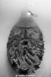 Wreck of the Boltenhagen near Malta. by Tobias Friedrich