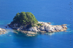 Yearning Heart Island /at this place only 50 meters from... by Boris Pamikov