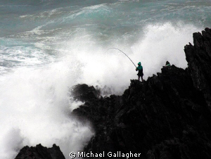 Fishing as an extreme sport - who knew!? by Michael Gallagher
