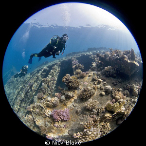 A dive on the Kimon M, Red Sea by Nick Blake