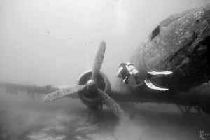 "Exploring the ""Dakota c-47"" airplane wreck in Kas/Antalya... by Rico Besserdich"