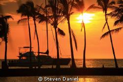 Big Island Sunset by Steven Daniel