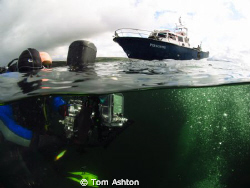 The shot line above the Shuna, Sound of Mull, Scotland by Tom Ashton
