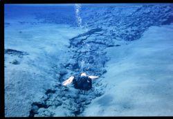 icelandic aquqscape, nikonos v, 35mm  12h00 noon! by Christopher Hamilton