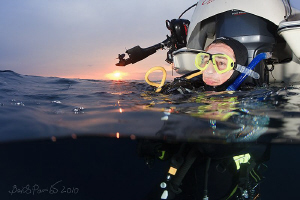 Buddy...  after dive with octopus on Boisman reef Thank... by Boris Pamikov