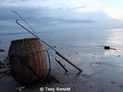 Primitive Fishing Gear, I couldnt resist this shot when ... by Tony Ronald