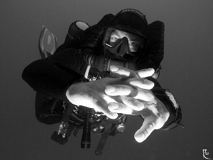 """Luke, I AM your father"" :-))) Rebreather Diver, Sigma 10... by Rico Besserdich"