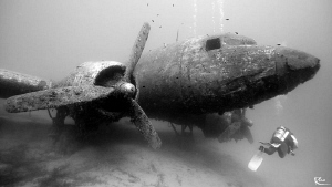 "Dakota C-47. That was a bit ""experimental"" since in a dep... by Rico Besserdich"