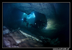 entrance to the cave in 6 degreese  celsius by Miro Polensek