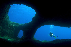 a secret place around Menorca :) by Roland Bach