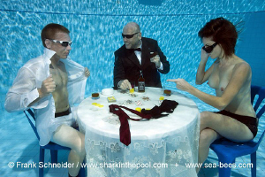 NOW YOU!  Special poker game - realized in the pool at t... by Frank Schneider