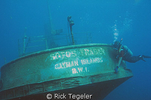 Wreck of Sotos Trader. by Rick Tegeler