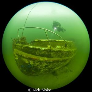 A shot of the Elisabeth Austin Lifeboat, Wraysbury Lake, ... by Nick Blake
