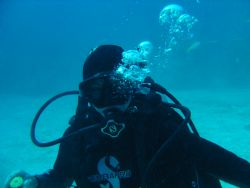 Student Diver in Bahamas by Kelly N. Saunders