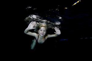 "Taken in the swimmingpool,no P.C work ""Little girl"" by Veronika Matějková"