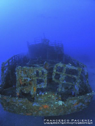 The stern of KT-12 wrecks. by Francesco Pacienza