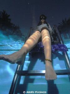 Looong Legs by Adolfo Maciocco