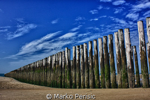 BEACH BREAK ZEELAND. HDR by Marko Perisic