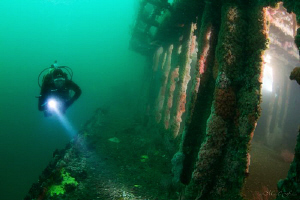 Wreck of the Coast Guard Cutter Ruby E. by Matthew Fischbach