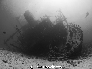 The Giannis D is a great wreck to photograph with its dra... by Paul Flandinette