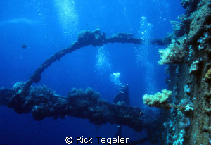Truk Lagoon..... by Rick Tegeler
