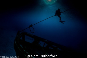 C-53 Wreck - Cozumel, Mexico by Sam Rutherford