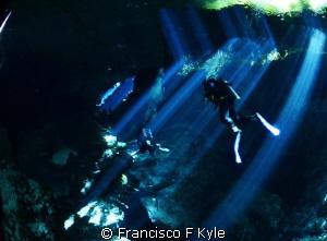 Cenote Chackmol by Francisco F Kyle