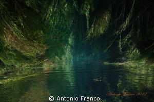 Upside view of Chidro river by Antonio Franco