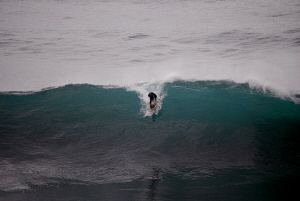 some Surfer on Madeira/Portugal by Andreas Kutsch
