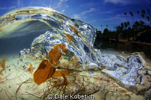 "Micro wave close to shore picks up allot of "" Stuff "" fro... by Dale Kobetich"