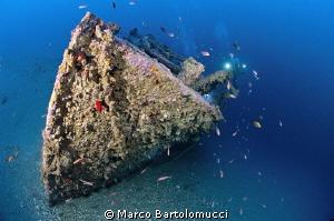 ww2 german wreck by Marco Bartolomucci