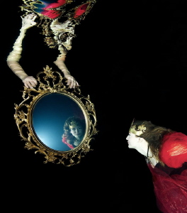 Mirror, mirror ....... ( from Snow white shooting ) by Lucie Drlikova