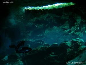 Cenote atmosphere. by Bea & Stef Primatesta