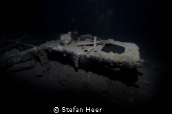 The sickbay in a Japanese wreck from the World War II in ... by Stefan Heer