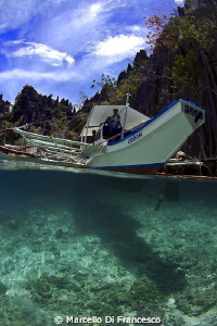 Palawan island hopping by Marcello Di Francesco