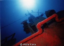 Shipwreck named Iberian Coast near KAS / Antalya (Motorma... by Atila Kara