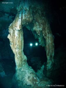Cenote Dos Ojos. by Stéphane Primatesta