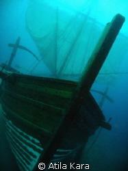 Replica of Uluburun (bronze age) shipwreck near KAS / Ant... by Atila Kara