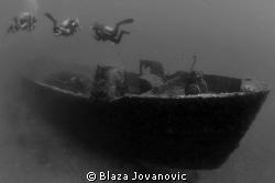 The wreck of Mytilini by Blaza Jovanovic