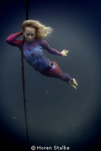I met my wife under water and found that she mermaid.. by Horen Stalbe