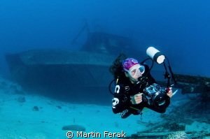 Wreck photographer by Martin Ferak