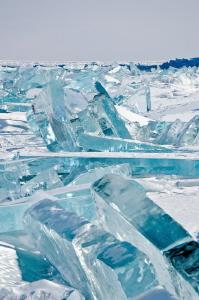 ice chaos (Baikal lake) by Mathieu Foulquié