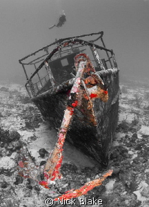 The colour version of this wreck shot I entered last year... by Nick Blake