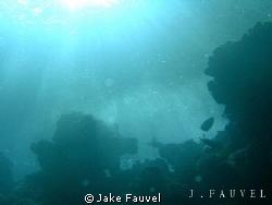 Taken in Egypt, interesting lighting shining through.. Cr... by Jake Fauvel