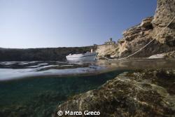Al Faro... by Marco Greco