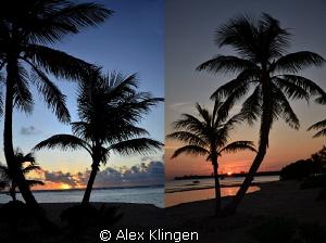 Sunrise, sunset, same beach, same day. by Alex Klingen