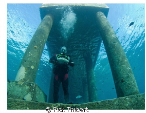 At the Pier Scuba Club Cozumel by Rick Thibert
