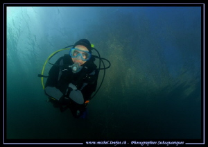 Freshwater diving... :O)... by Michel Lonfat