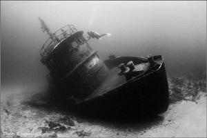 Touch Dominican Rep. Tugboat La Lemon. by Dmitry Vinogradov