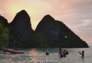 Dive Break! Wayag Island. Raja Ampat. Nikon D3100. by Morgan Ashton